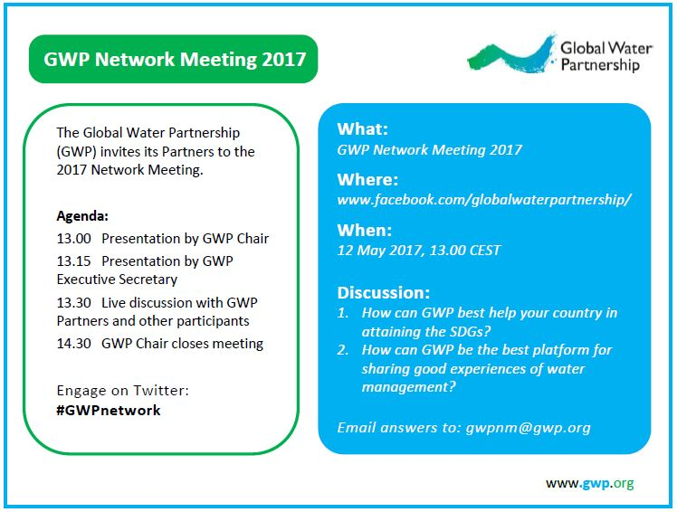 Network meeting invitation and agenda