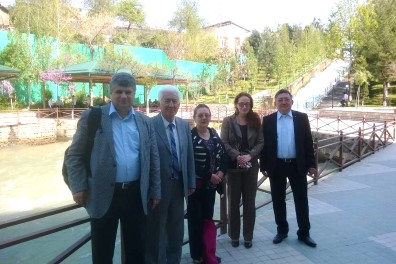 GWP representatives in Tashkent, April 2014