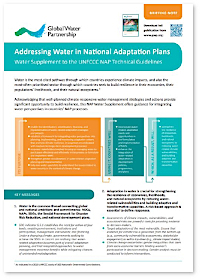 NAP Water Supplement Briefing Note