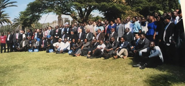 Participants at Zambia Water Forum