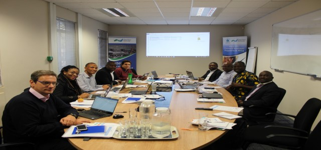 GWP Africa regional team meeting in Johannesburg