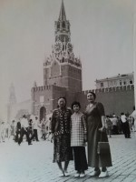 Guljamal Nurmuhamedova in Moscow when she was young