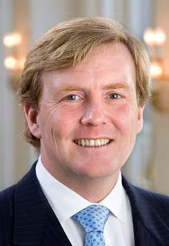 HRH prince of Orange Willem-Alexander