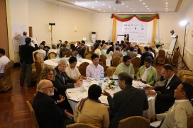 Photos from Myanmar roundtable
