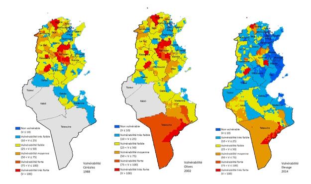 Drought vulnerability maps in Tunisia - GWP